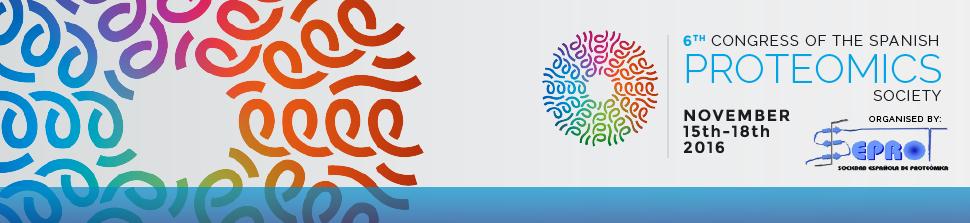 6º Congreso de la SEProt, Cádiz, del 15 al 18 de Noviembre de 2016.