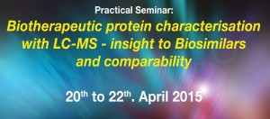 Biotherapeutic protein characterisation with LC-MS