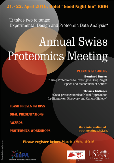 LS2-SPS Conference 21/22 April 2016 in Brig, Switzerland